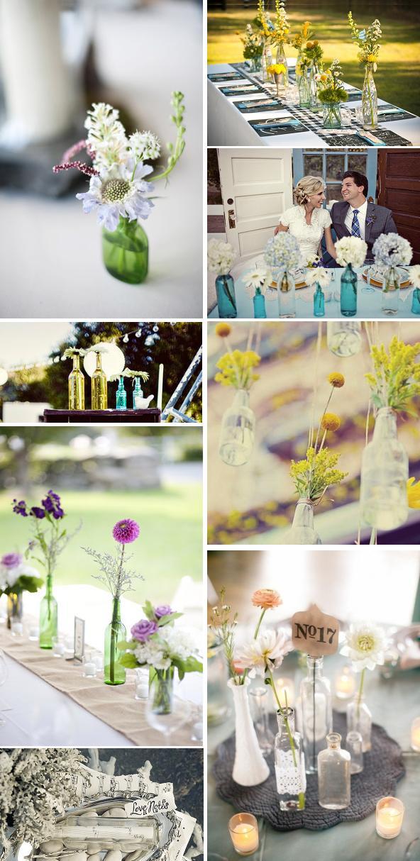 Book de ideas para decorar tu boda con botellas - Decorar tu boda ...