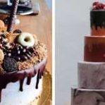 Las tartas de boda de diseño más bonitas, ¿queréis la vuestra así?