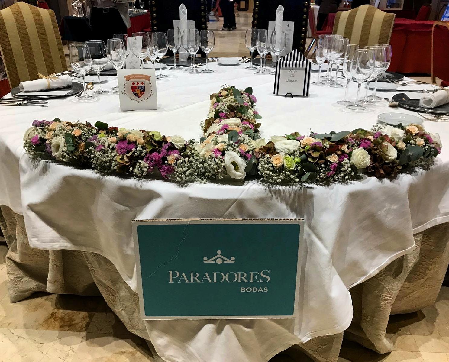 Mesa de bodas Lerma